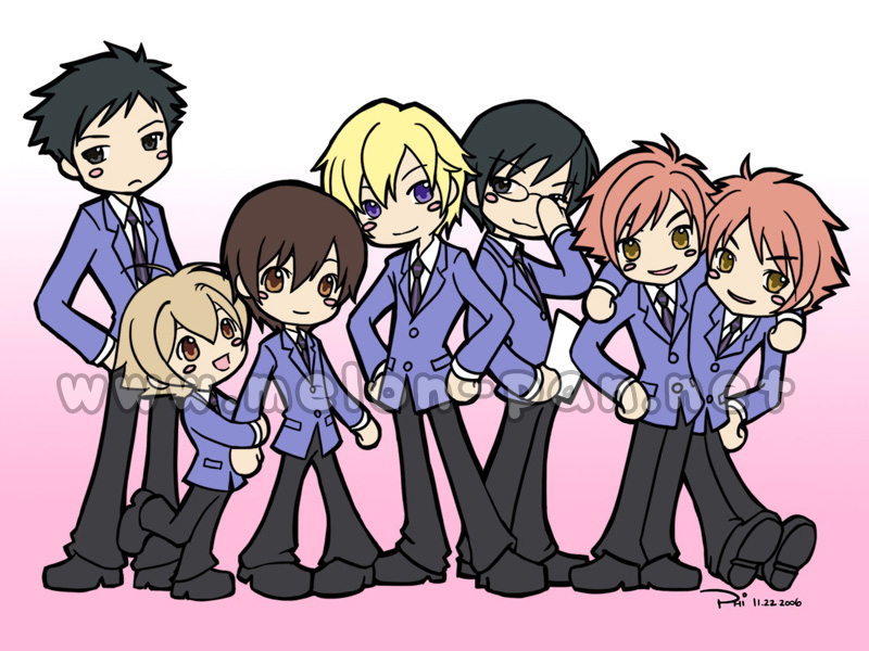 Ani-view: Ouran Highschool Host Club