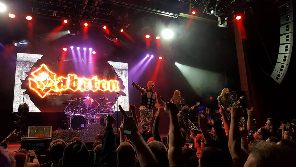 The Fillmore, Philadelphia –Sabaton